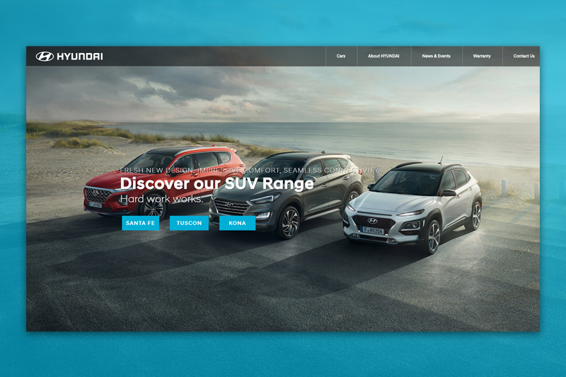 A website redesign for Hyundai Cyprus