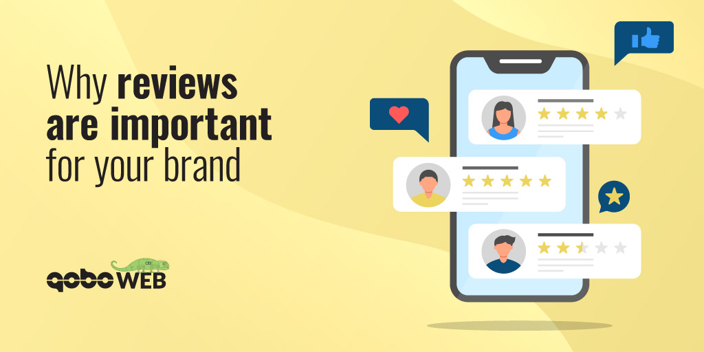 Why online reviews are important for your brand