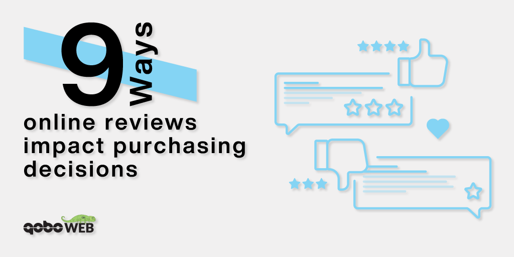 INFOGRAPHIC: 9 ways online reviews impact purchasing decisions